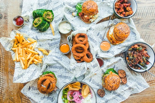 Bareburger offers organic ingredients and exotic meat alternatives including bison and turkey.