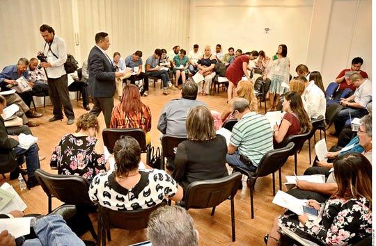 El evento 'Sembrar la Paz' tiene como objetivo colectar testimonios y propuestas que los inmigrantes tienen respecto al tema de seguridad