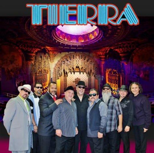 El grupo latino R & B Tierra se presentará en Somos Peoria.