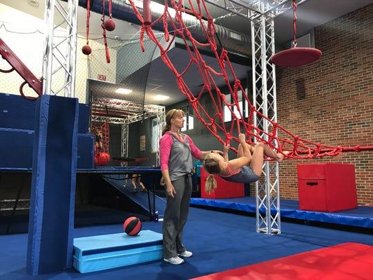 Flames open Fuse Ninja Gym