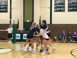 The Millbrook volleyball team swept Spackenkill on Thursday. And, they players been teasing their coach about his new beard.