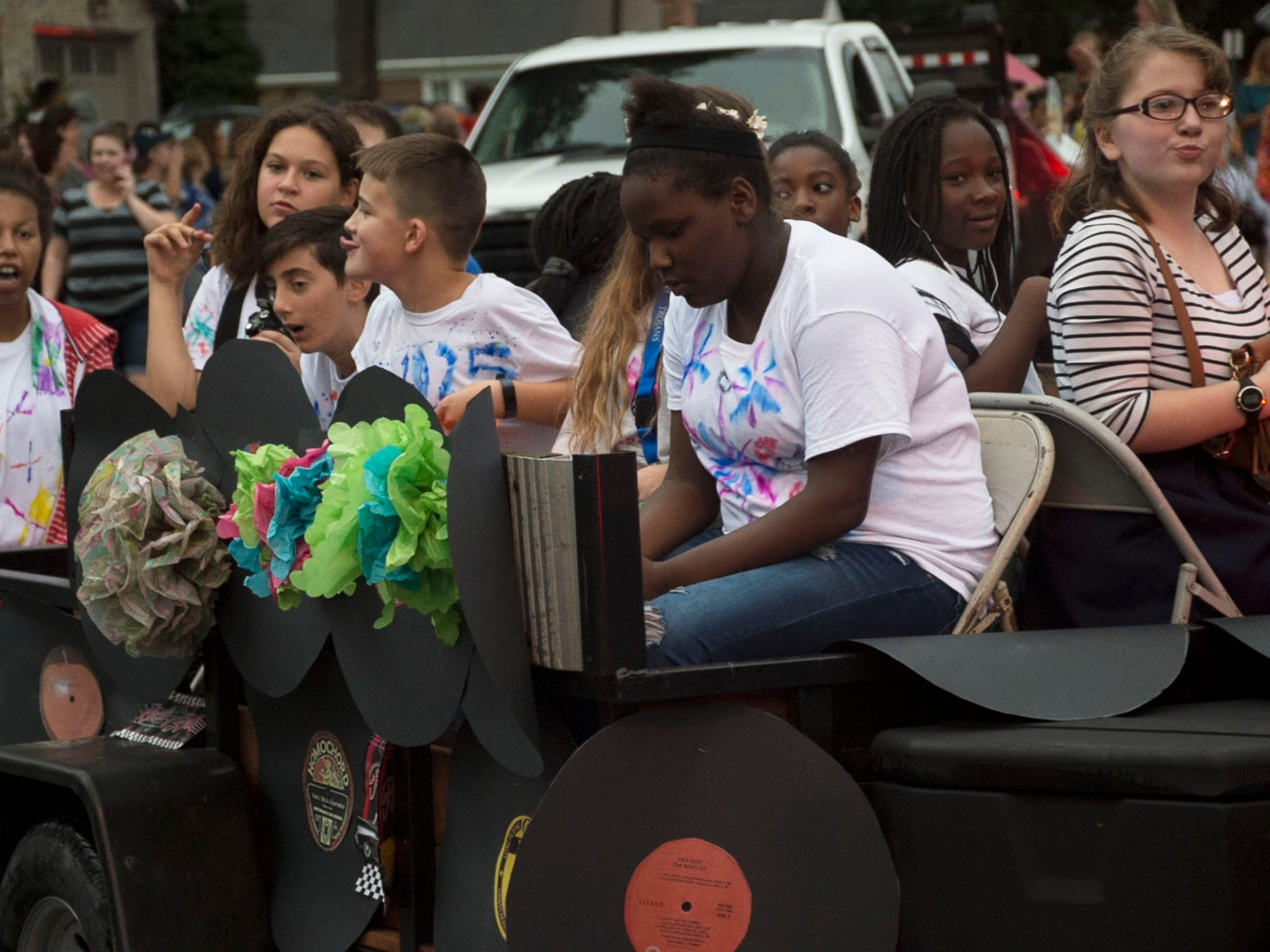 The Chambersburg homecoming parade was held Wednesday evening, September 26, 2018 along McKinley Street.