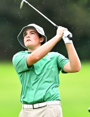 York Catholic's Russell McPaul, seen here in a file photo, was the individual medalist on Tuesday at the York-Adams Division III golf opener at South Hills Golf Course near Hanover. He fired a 6-over-par 77.