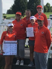 National Trail's girls golf team won the sectional title.