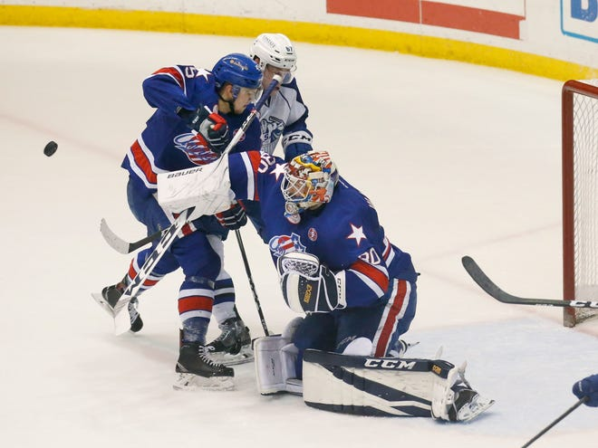 In their regular-season opener, the Rochester Amerks take on the Charlotte Checkers Friday, Oct. 5, at Blue Cross Arena at the War Memorial.