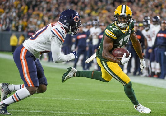 Nfl Chicago Bears At Green Bay Packers