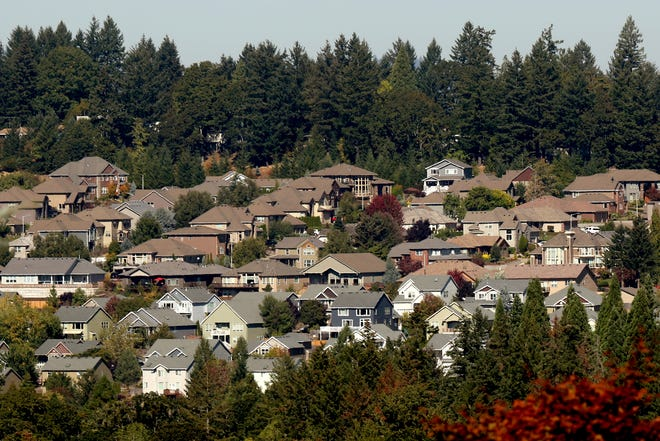 A West Salem neighborhood near Doaks Ferry Rd. NW on Thursday, Sep. 27, 2018. Studies show there is a 10-year life expectancy gap between specific neighborhoods in West Salem and Northeast Salem.