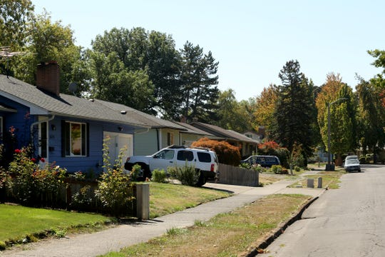 A Northeast Salem neighborhood near Hawthorne Ave. NE on Thursday, Sep. 27, 2018. Studies show there is a 10-year life expectancy gap between specific neighborhoods in West Salem and Northeast Salem.