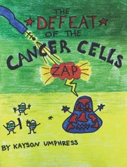 "Cancer cells feel the ""zap"" of Kayson's creativity."