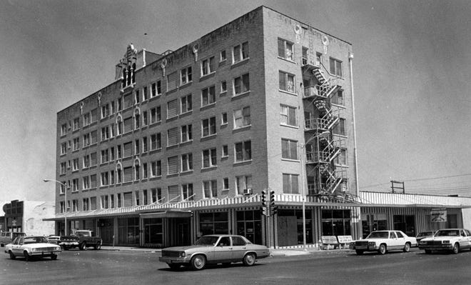 A hotel at Concho Avenue and Chadbourne Street has been known by several names, including the Landon Hotel, the Naylor Hotel and the Town House.