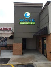 A mock-up of Wave Nutrition's sign at the Golden Valley Plaza.
