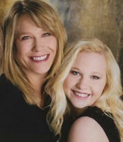 Barb Olson poses for a picture with her daughter, Caitlyn Carman. Carman was killed in a car crash in March 8, 2018, just outside of Sioux Falls.
