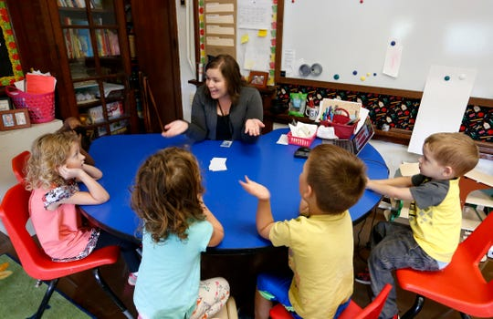 In August, the Springfield school district opened up spots for 200 4-year-olds in the Campbell Early Childhood Center. Formerly an elementary school, it now serves as a preschool center.