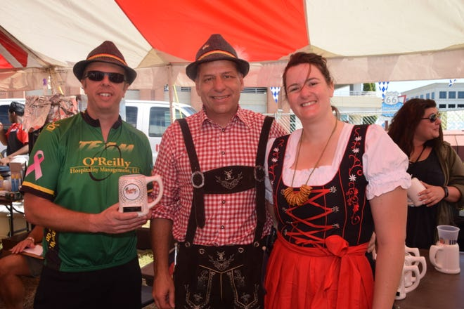 Admission to Oktoberfest is free if you're in Bavarian garb.