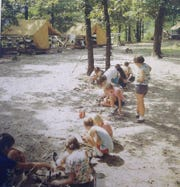 This photo is from many years ago at Camp Mintahama near Joplin, Missouri. The Girl Scouts of the Missouri Heartland plans to sell the 73-year-old camp.