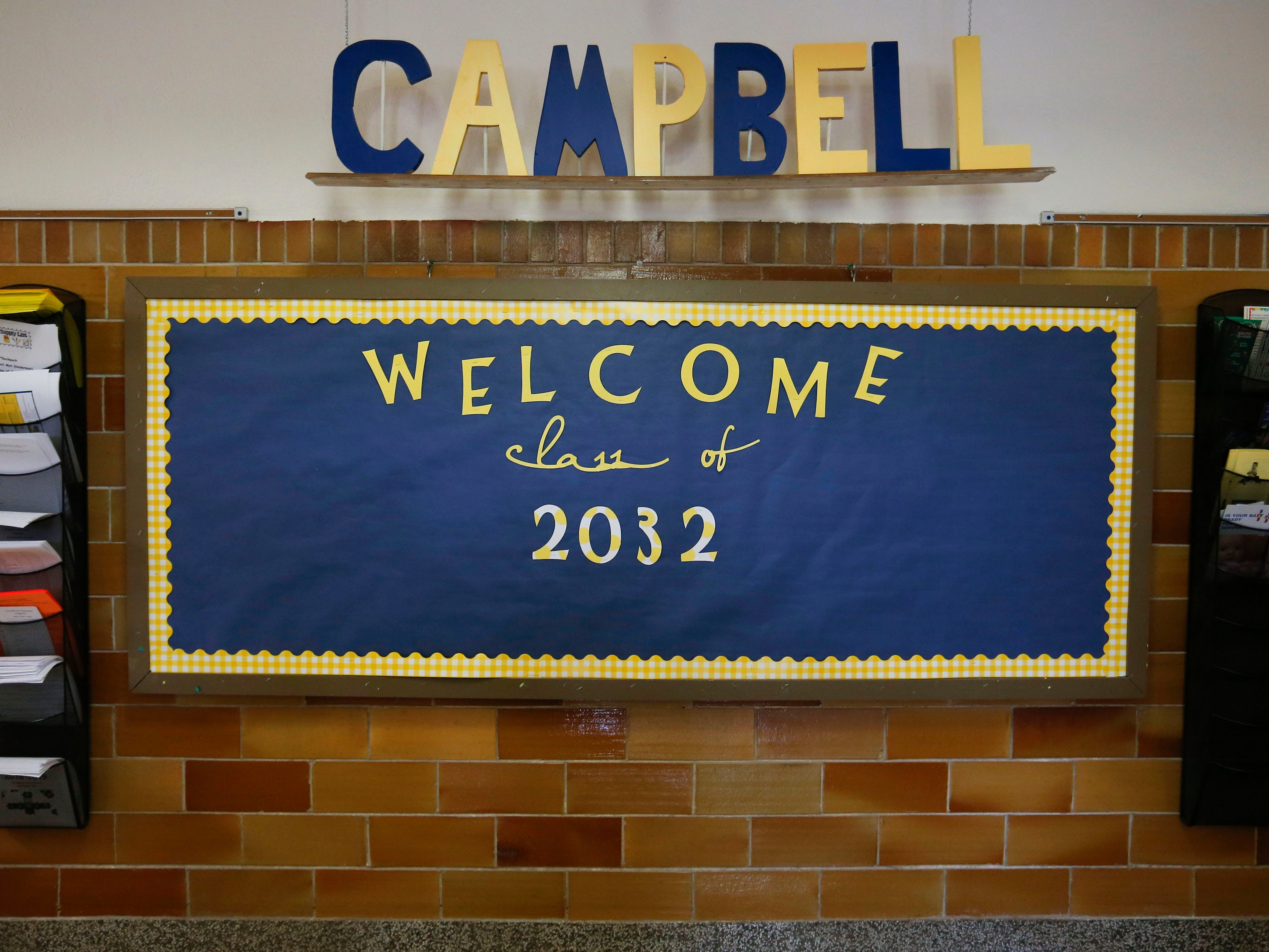 A look inside the Campbell Early Childhood Center on Thursday, Sept. 26, 2018.