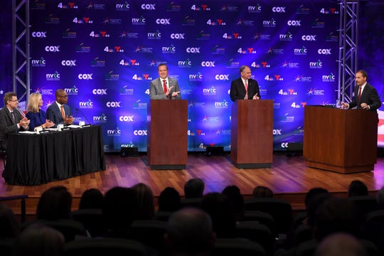 With NBC's Chuck Todd serving as moderator, Republican candidate Corey Stewart and Democratic Sen. Tim Kaine squared off Wednesday night at the Virginia Senatorial Debate.
