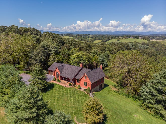 224 Berry Lane outside of Staunton offers views, acreage and seclusion.