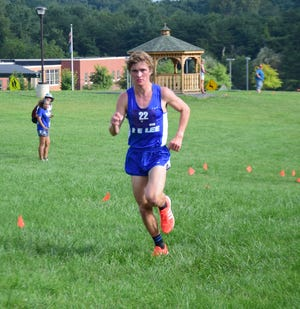 Robert E. Lee's Oliver Wilson-Cook is preparing for some big cross country meets over the next few weeks, including the Great American Cross Country Festival in Cary, N.C., on Oct. 6.