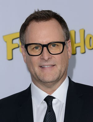 """Dave Coulier arrives at the premiere of """"Fuller House"""" in Los Angeles, California, Feb. 16, 2016."""