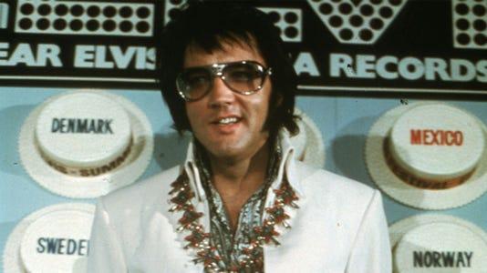 Elvis The King Art Oscilloscope Labs