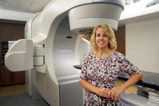 Kathleen Brown was diagnosed earlier this year with stage 3 ductal carcinoma breast cancer. After six weeks of treatment with the TrueBeam radiation-therapy system at the Scully-Welsh Cancer Center at Indian River Medical Center, Brown was given the all-clear.