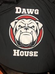South Fork is planning a blackout for Martin Bowl 35 with this shirt of a snarling bulldog.