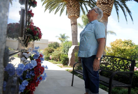 Maryanne Hazencomb has visited the site where her son, Chris Hazencomb, is buried at Conejo Mountain Memorial Park in Camarillo 12 times since he was killed in the shooting at the Route 91 Harvest festival in Las Vegas last year.
