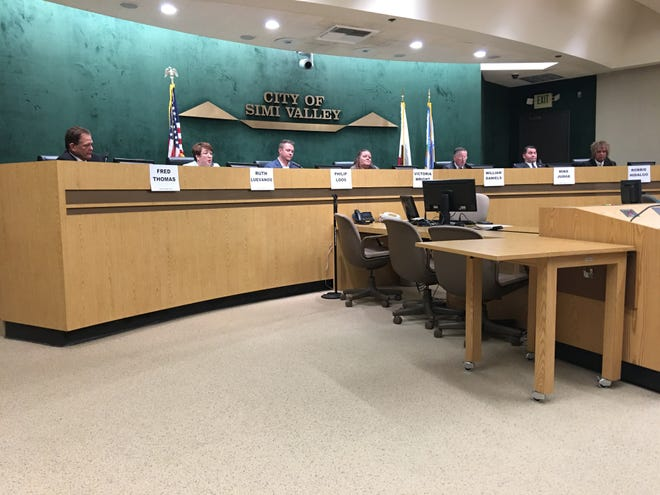 Candidates running for the Simi Valley City Council and mayor in the Nov. 6 election discussed a wide range of issues at a League of Women Voters program this week, but perhaps none more so than the city's finances and economic outlook. Pictured are the council candidates.