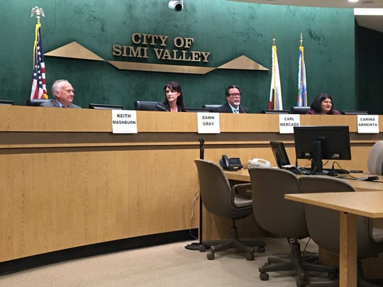 Candidates running for the Simi Valley City Council and mayor in the Nov. 6 election discussed a wide range of issues at a League of Women Voters program this week, but perhaps none more so than the city's finances and economic outlook. Pictured are the mayoral candidates.