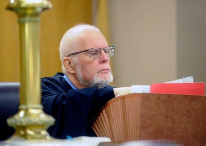 Municipal Court Judge Edward Duffy presided over a preliminary hearing for Gladys Lugardo-Herple in Bridgeton on Thursday, September 27