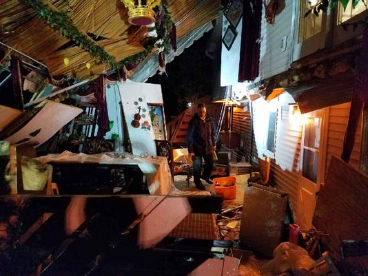 Monsey deck collapse