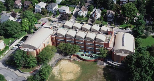 The Paideia School in Yonkers is closed while repairs are being made to a leaky roof Sept. 27, 2018.