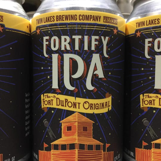 Twin Lakes Brewing Co. created a new beer, Fortify IPA, for this weekend's festival.
