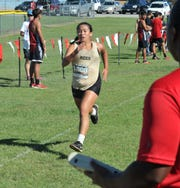 Rider High School's Sola Fiorentino took seventh place with a time of 23:02.13 Thursday at the WFHS Cross Country meet.