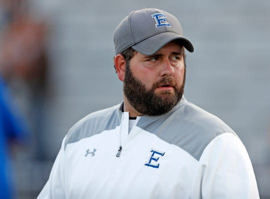 Lubbock Estacado coach Joe Cluley