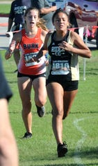 Rider High School Cross Country student Danielle Parish.