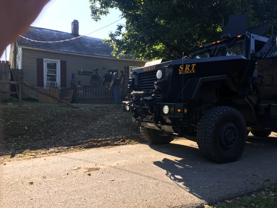 One of two addresses were people were apprehended on drug-related charges by the Perry County Sheriff's Office.