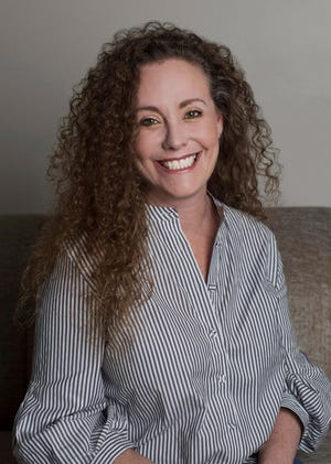 This undated photo of Julie Swetnick was released by her attorney Michael Avenatti via Twitter on Sept. 26. 2018.