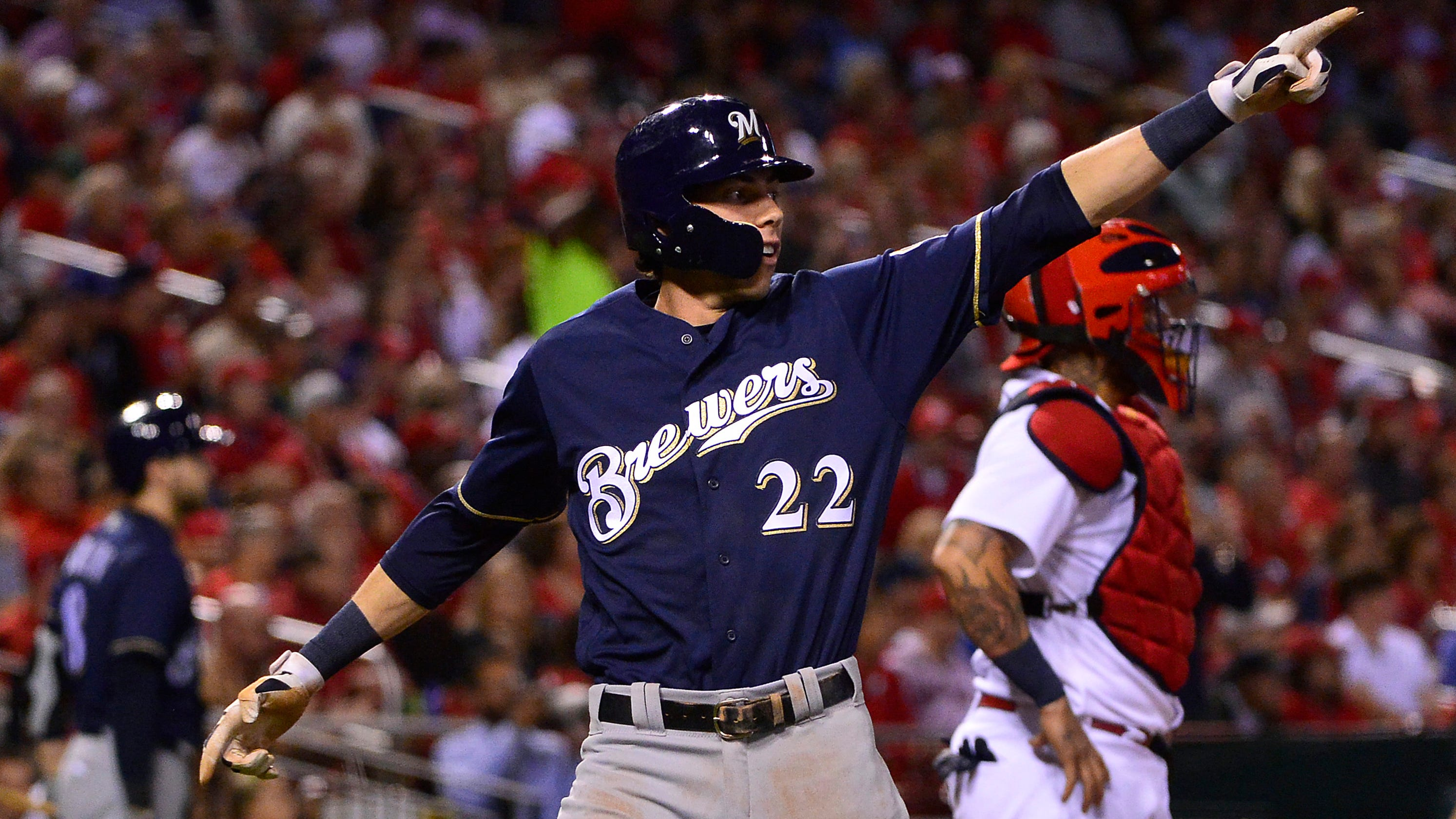314260ce9 Milwaukee Brewers, Chicago Cubs clinch MLB playoff berths after Brew Crew  sweeps Cardinals