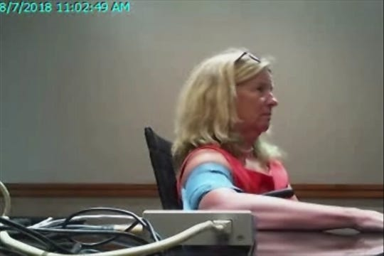 Christine Blasey Ford takes a polygraph exam on her allegations against Brett Kavanaugh