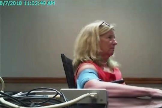 Christine Blasey Ford takes a polygraph exam on her allegations against Brett Kavanaugh