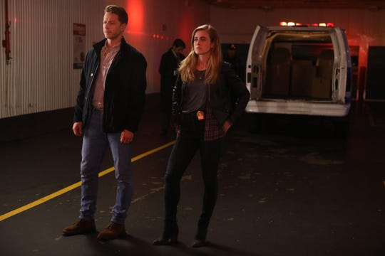 Siblings Ben (Josh Dallas) and Michaela (Melissa Roxburgh) are looking for answers about one very large shared mystery in