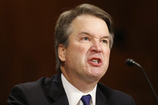 Supreme Court nominee Judge Brett Kavanaugh angrily defends his reputation during the Senate Judiciary Committee hearing on his nomination to be an associate justice of the Supreme Court.