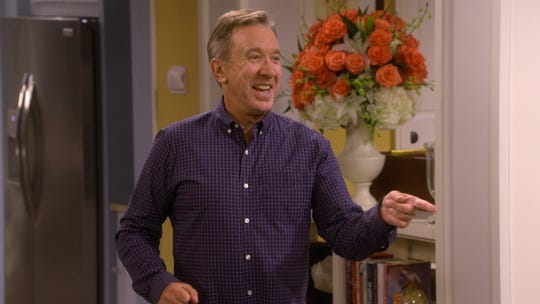 "Tim Allen had a warm welcome for Fox's fans of his canceled ABC series ""Last Man Standing."""