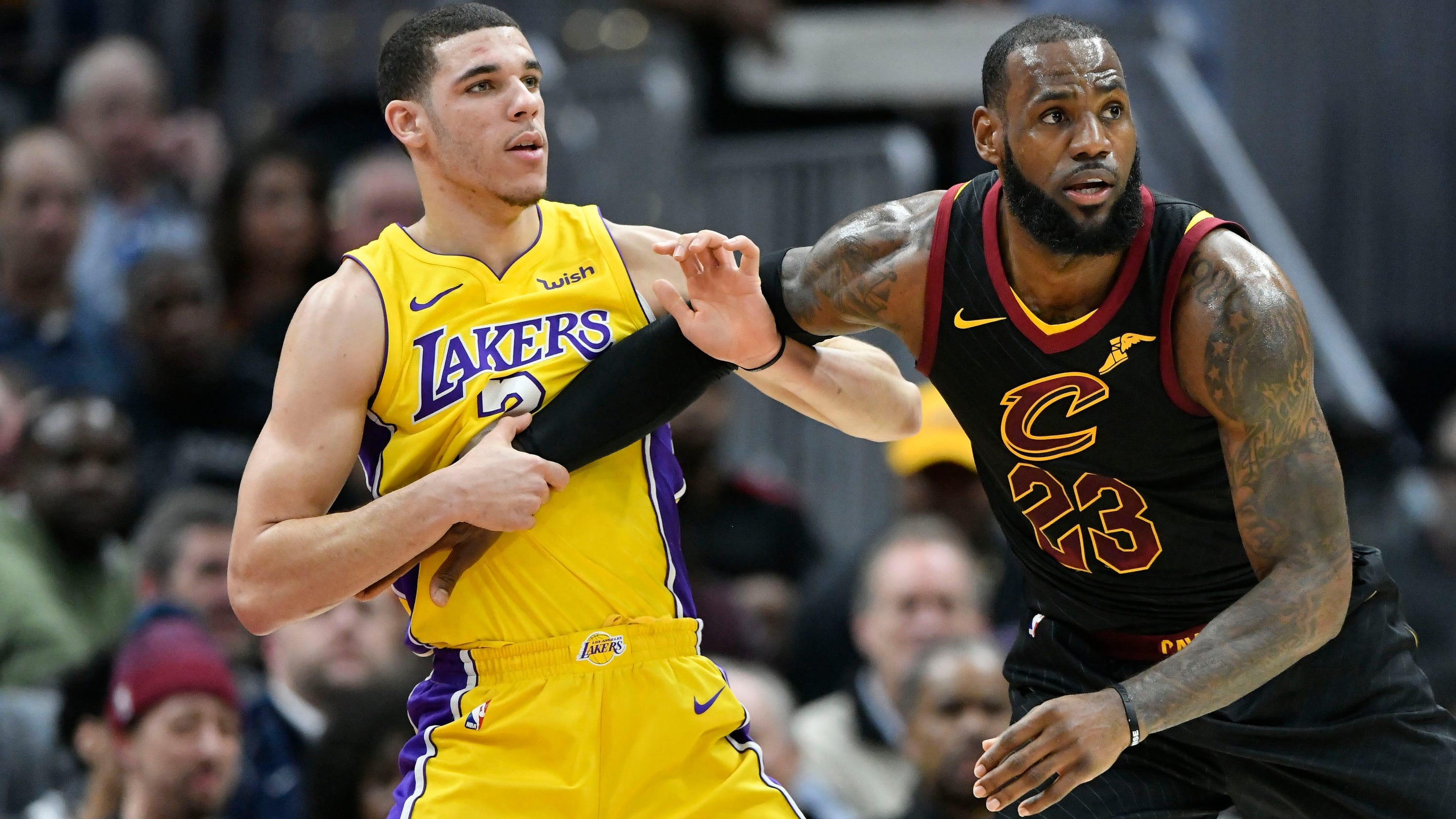 c4a6f2854 Lonzo Ball on LeBron   He not God  Lakers guard says of man he admires