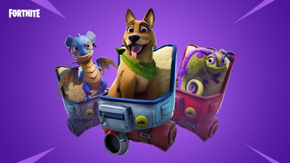the new pets appearing in the sixth season of fortnite - fortnite new objects