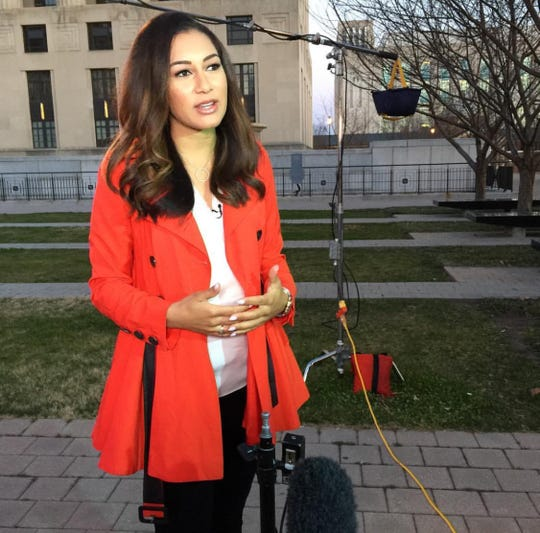 Morgan Radford is always on the go for NBC.