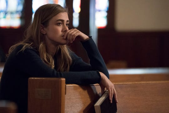 """Michaela (Melissa Roxburgh) reconnects with her faith when faced with an unexplainable mystery in """"Manifest."""""""