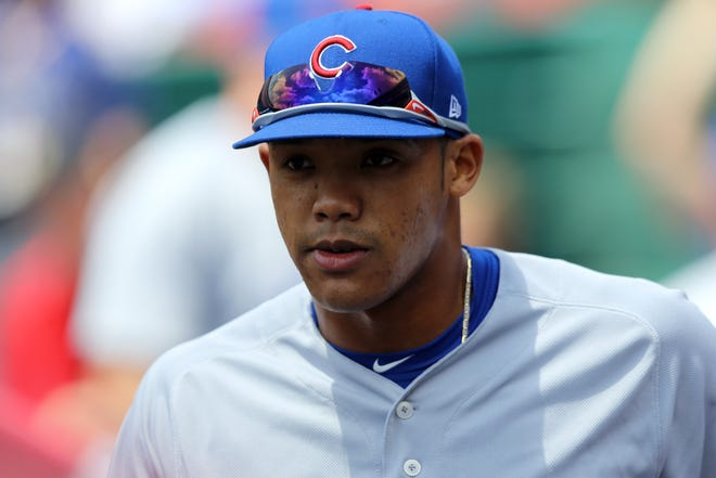 Addison Russell's availability for the postseason is in question.